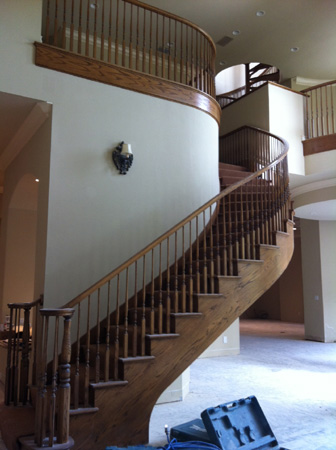 Before: Staircase Remodel