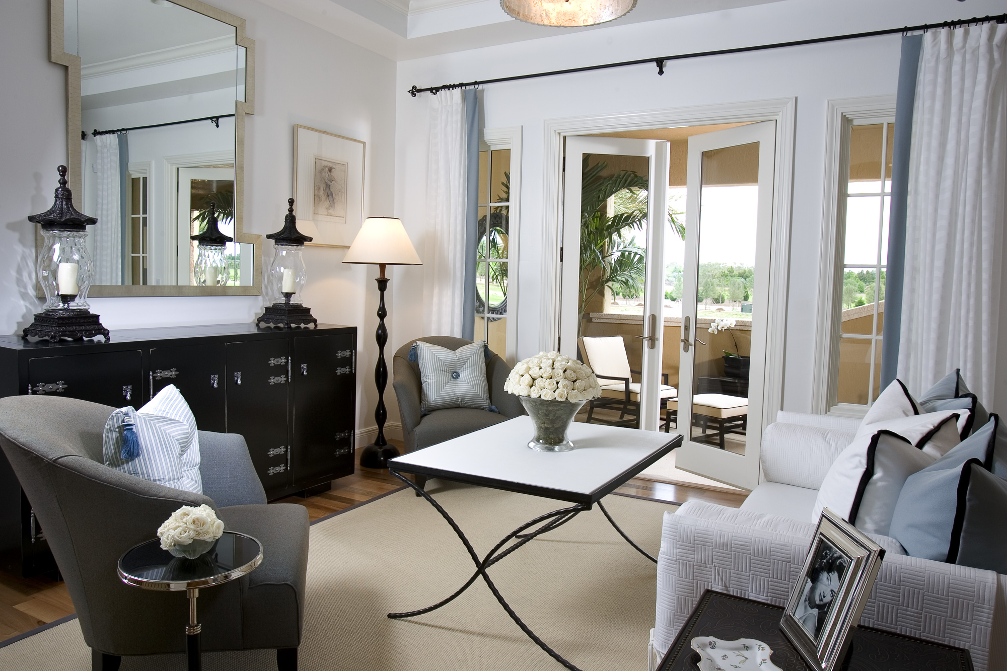 transitional interior design gallery | malibu west interiors