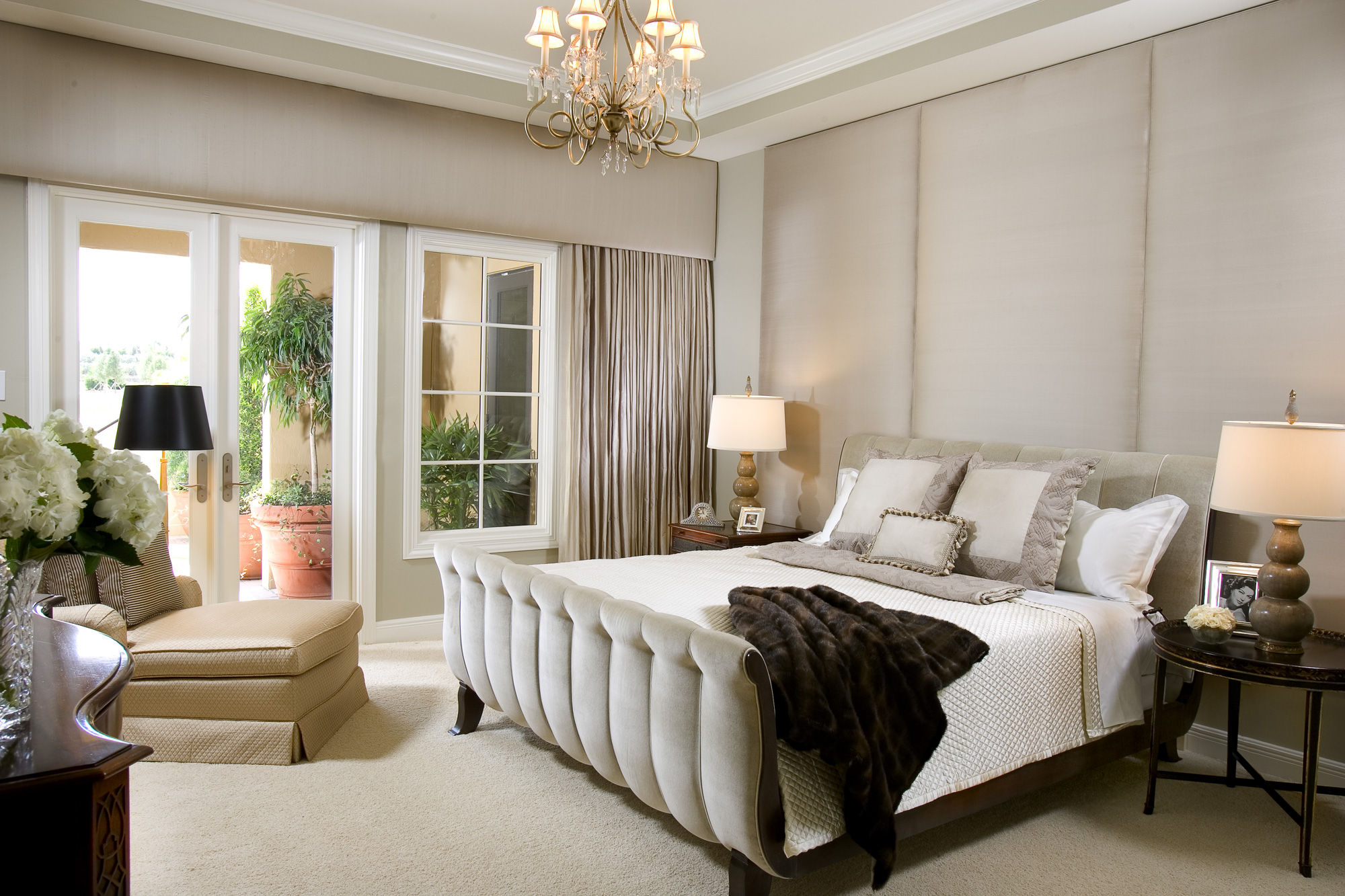 Interior design gallery malibu west interiors naples for Interior designs for master bedroom pictures